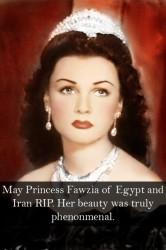 აღმოსავლეთის ლურჯთვალა ვენერად წოდებული ეგვიპტის პრინცესა ფავზია