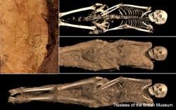 ეგვიპტურ მუმიაზე მიხეილ მთავარანგელოზის მონოგრამა აღმოაჩინეს