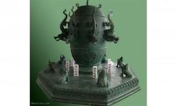 სეისმური დეტექტორი, რომელიც თითქმის 2000 წლის წინ ჩინეთში გამოიგონეს